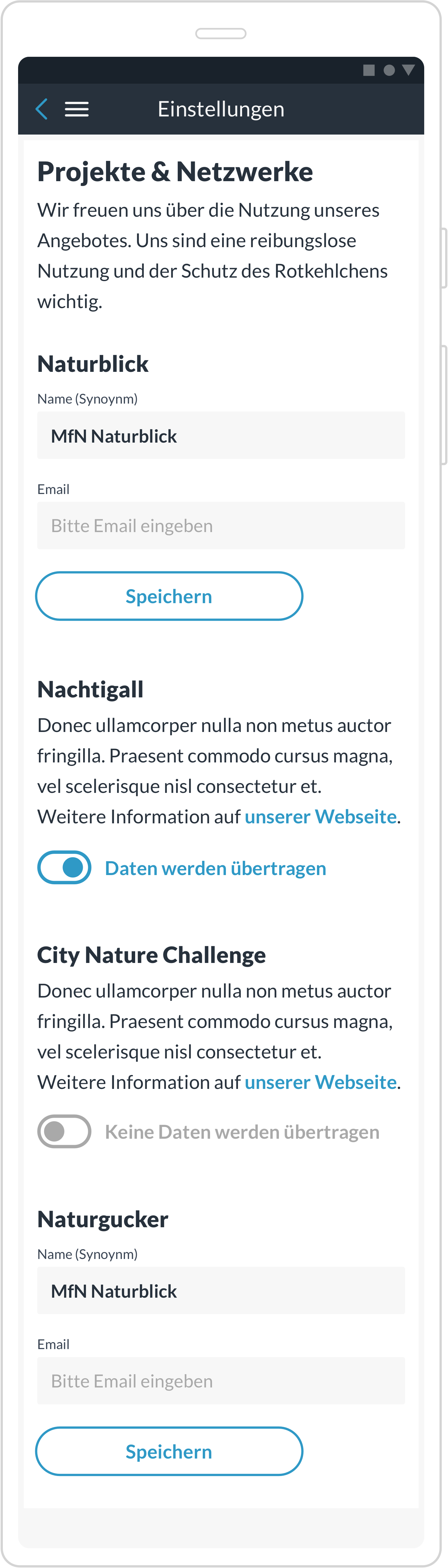 Naturblick_Settings