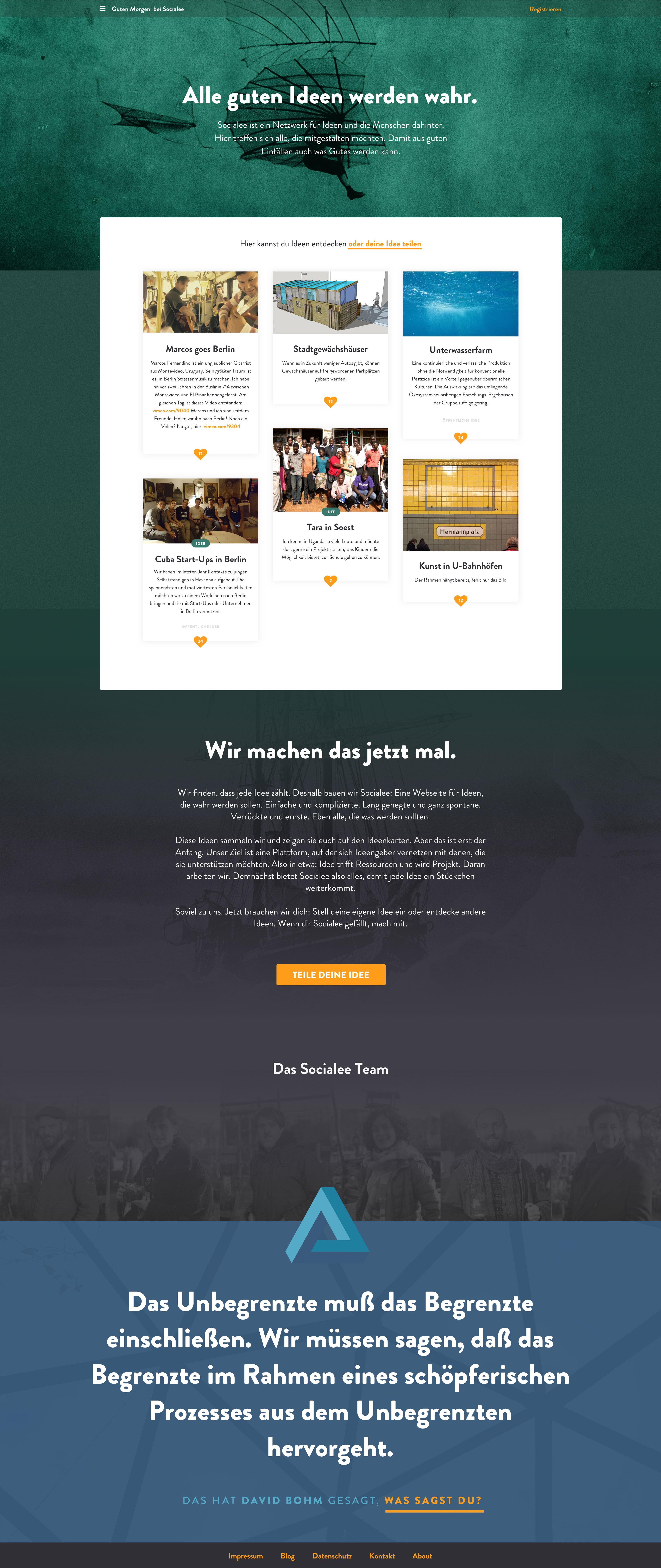 Socialee_Homepage