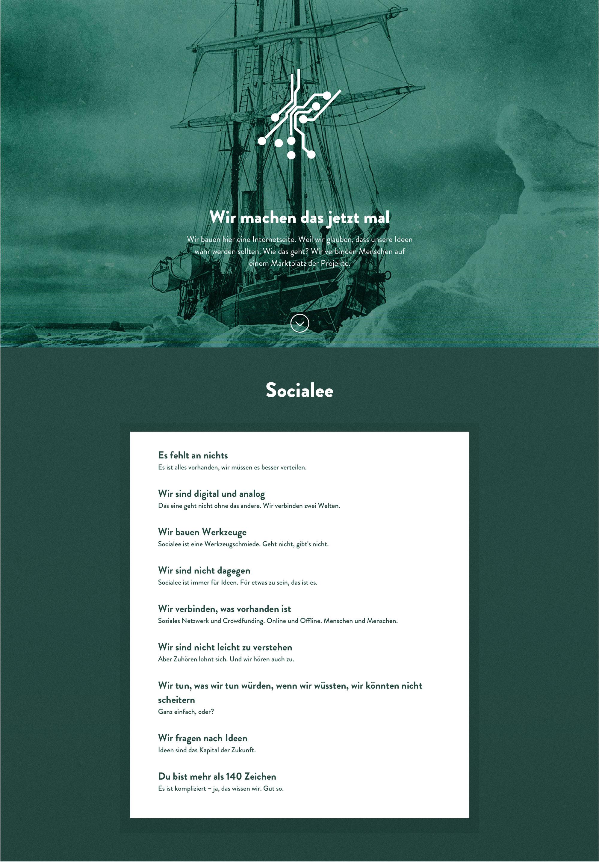 Socialee_Landingpage_Concept