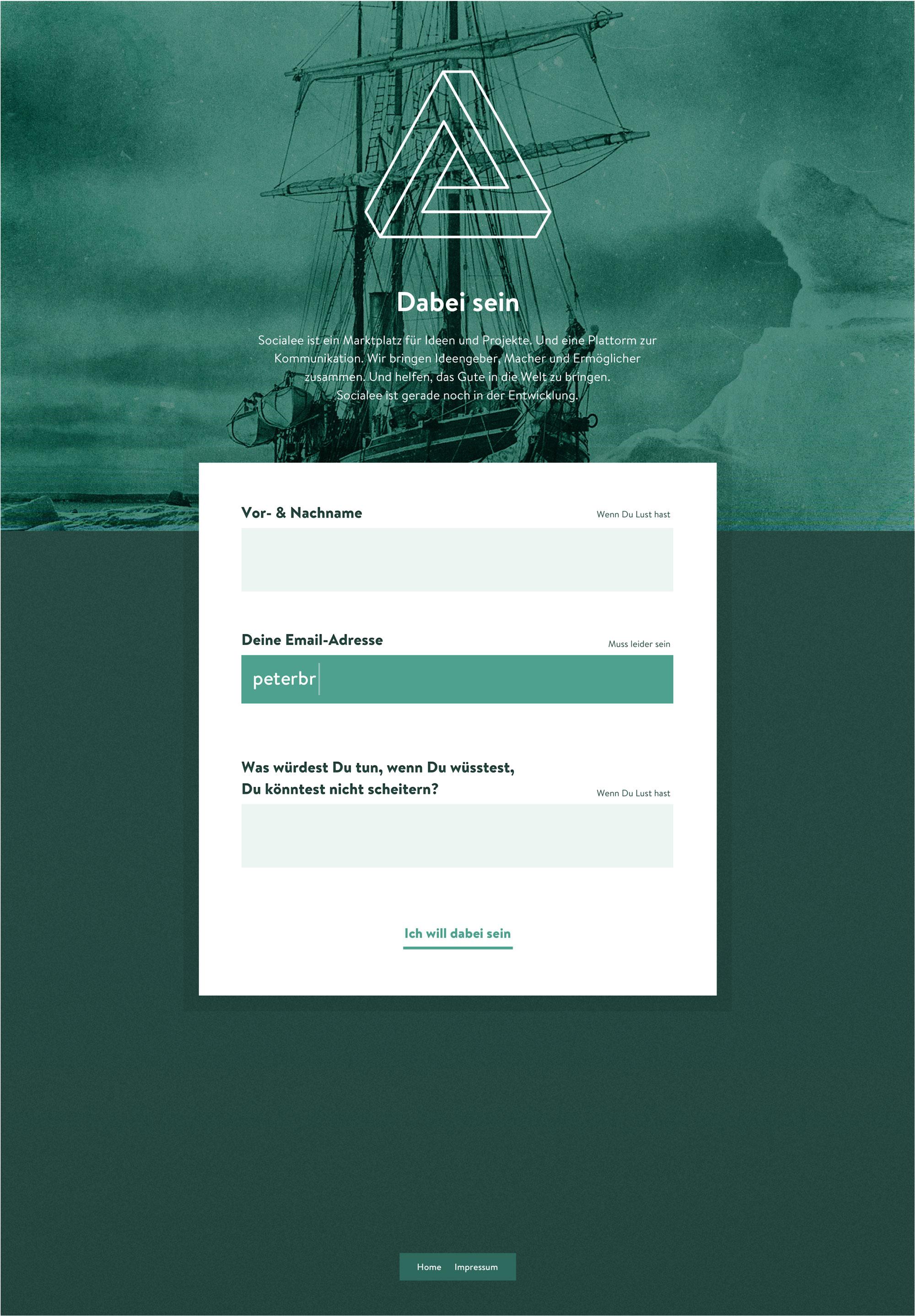 Socialee_Landingpage_SignIn